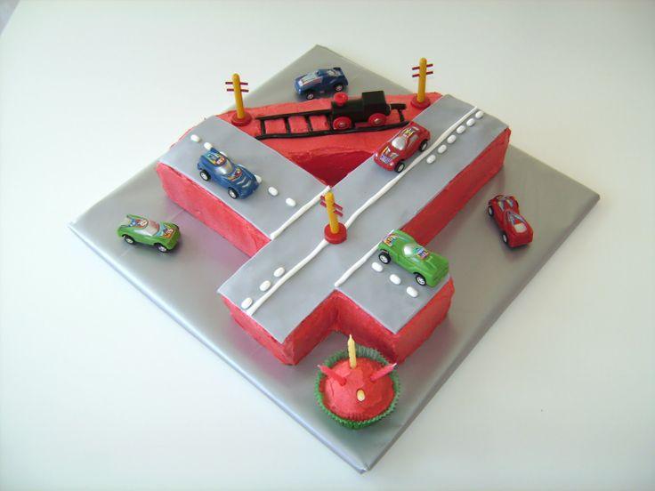 15 Must See Number 4 Cake Pins Surprise Cake Tie Dye