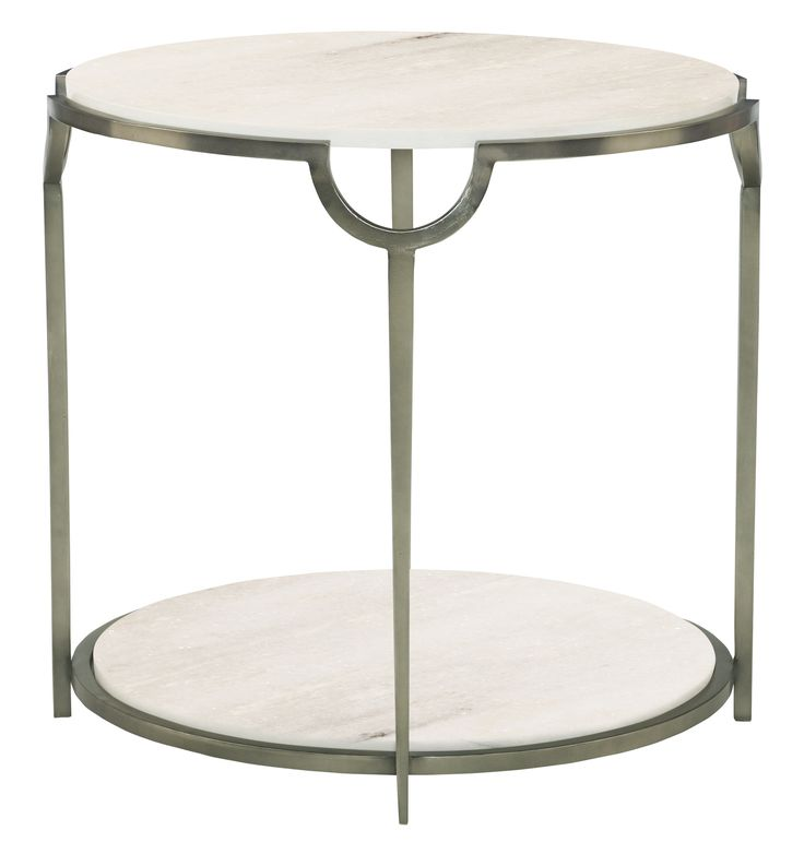 H: 26 1/2; Dia: 28 Round End Table | Bernhardt | ~ FURN: ACCENT ~ |  Pinterest | Tables, Classic Furniture And Room
