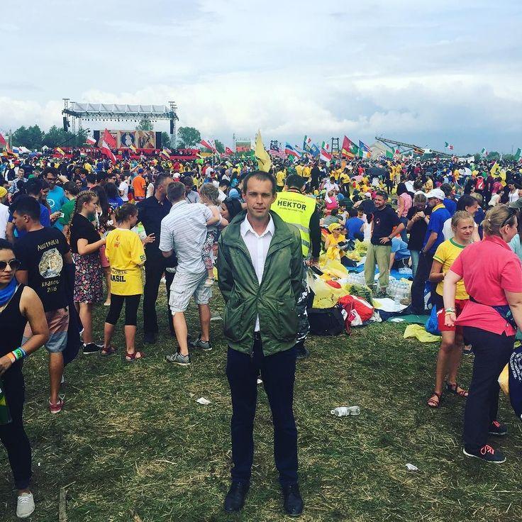 After Party   Встреча с папой римским Франциском    #этожизнь #краков #польша #лето #путешествие #июль #summer #travel #juli #2016 #frantisek #krakow #poland #polen #reisen #polsko