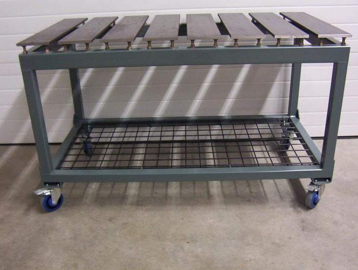 1000 ideas about welding table on pinterest welding - Plan fabrication table ...