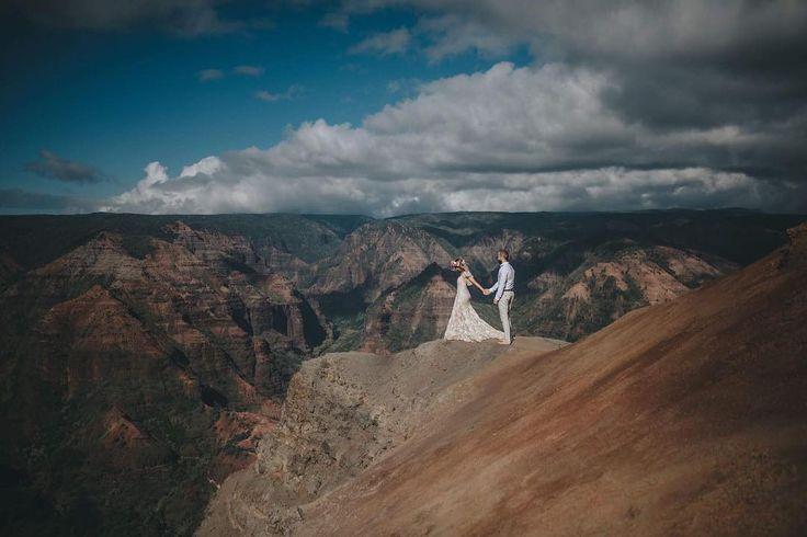Leila Bridger (@leilabridger) • Waimea Canyon Wedding Shoot