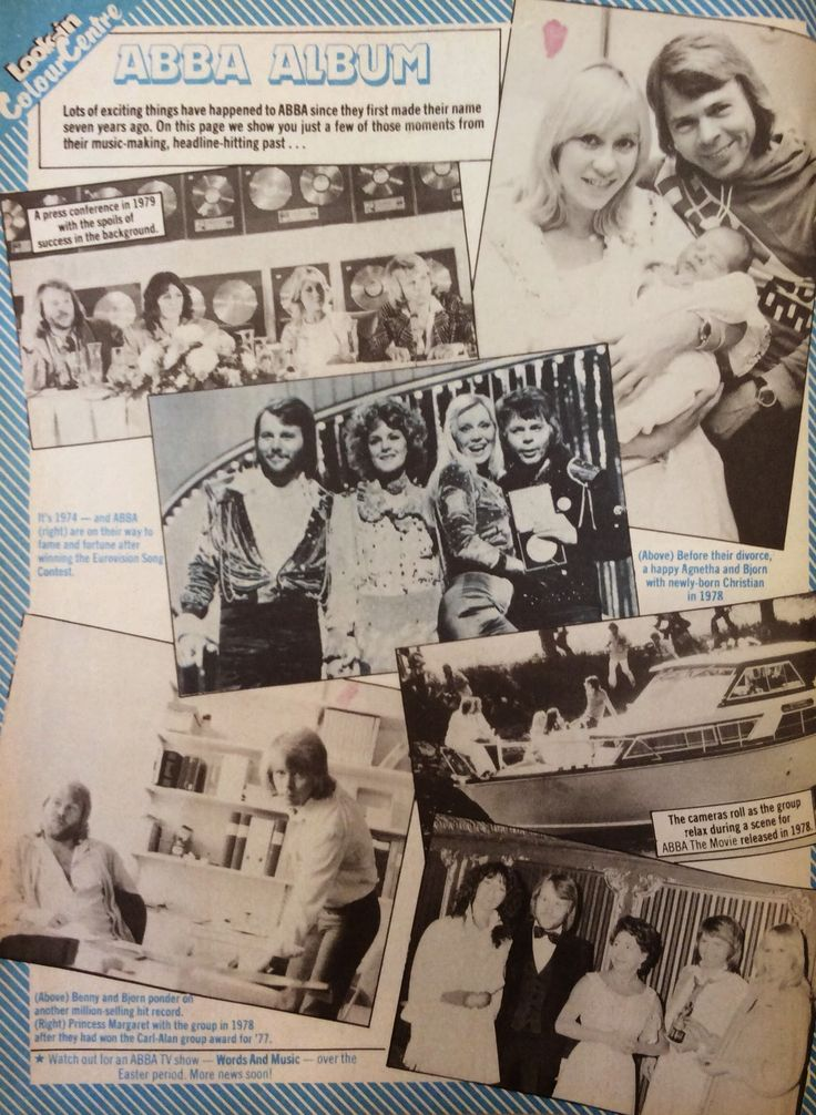 Another Abba article from the March 1981 issue of Look-in magazine #Abba #Look-in http://abbafansblog.blogspot.co.uk/2015/03/archive-magazine-march-1981-part-3.html
