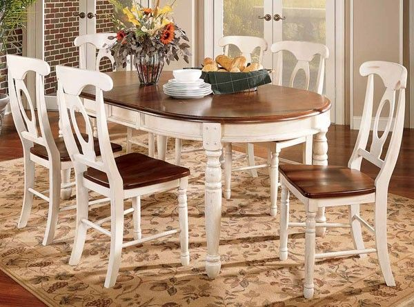 British Isles Oval Leg Table Merlot Buttermilk Sophisticated Country Dining Our Dining