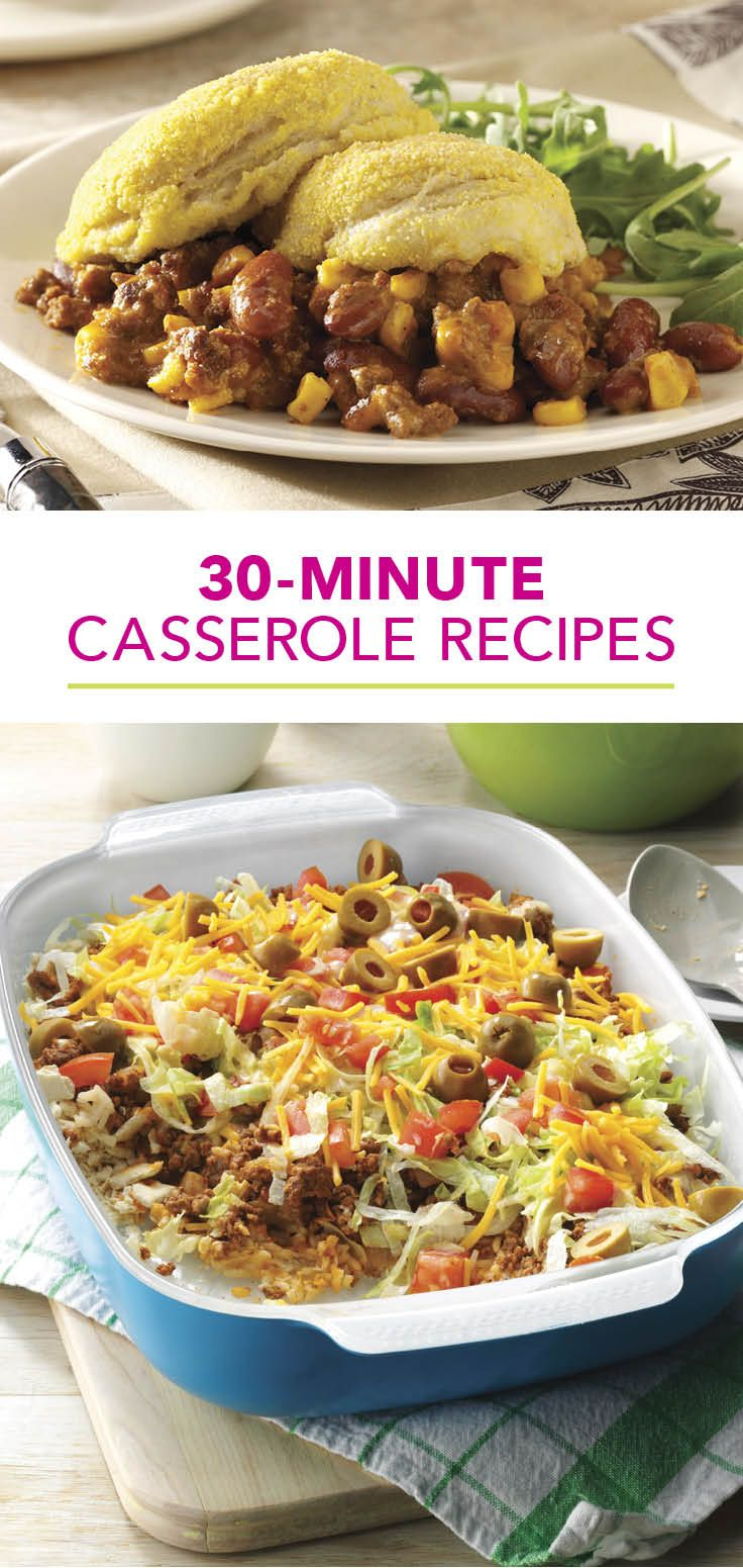 30-Minute Casserole Recipes from Taste of Home