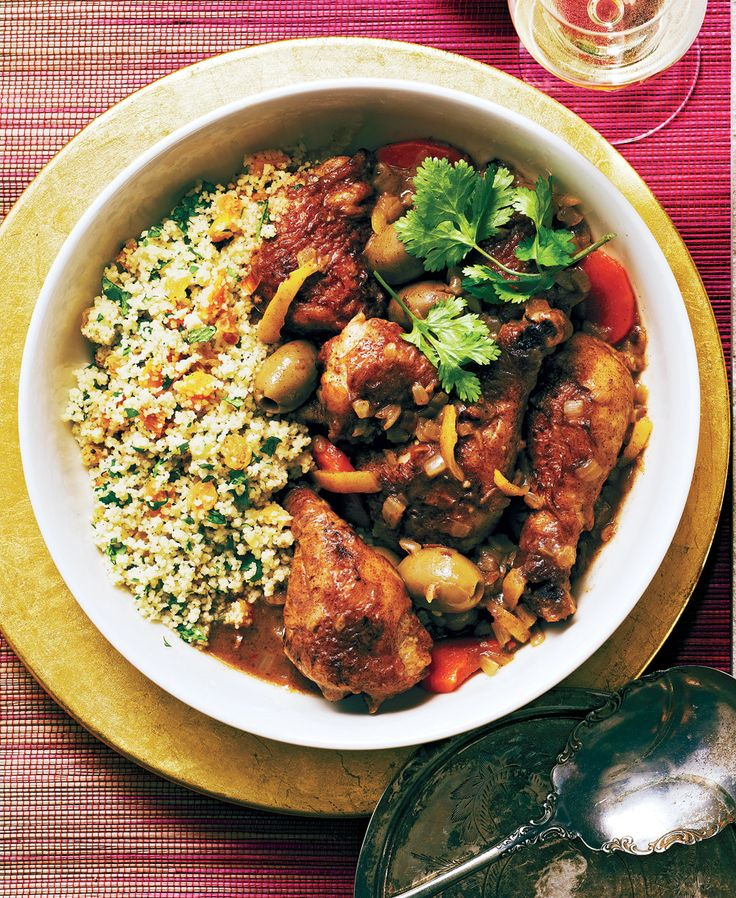 Olive Chicken Tagine With Dried Fruit Couscous - 29 cozy recipes to get you excited about cold winter evenings