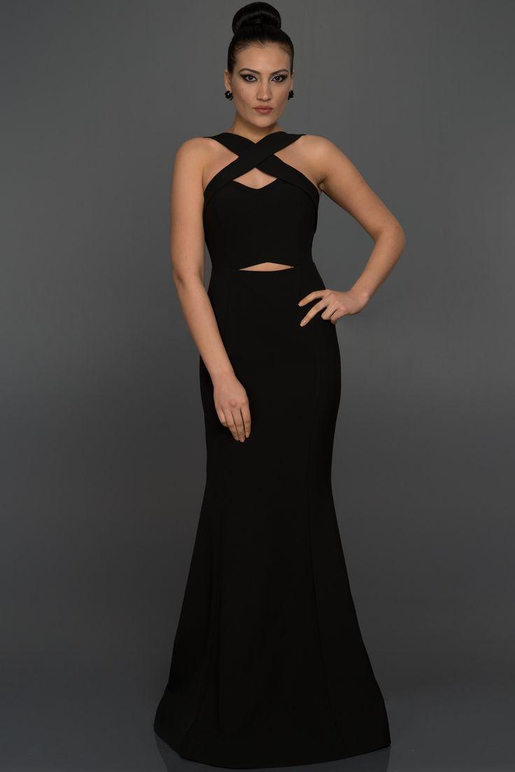 Uzun  Balık Abiye Elbise WC6007