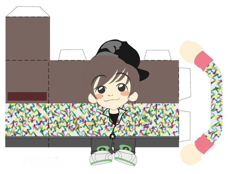 G-Dragon - Papertoy by lovekity19.deviantart.com on @DeviantArt