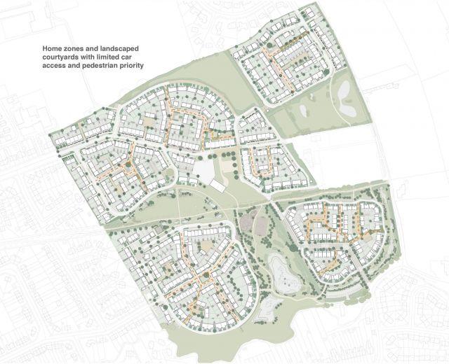 Image result for derwenthorpe master plan
