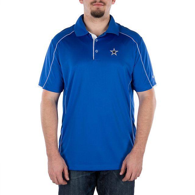 ccb8eee83 ... Performance Polo - Navy Dallas Cowboys Nike Golf Tech Core Color Block  Polo ...