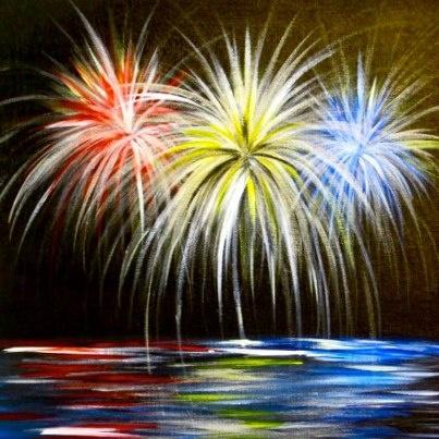 Fireworks at Lake