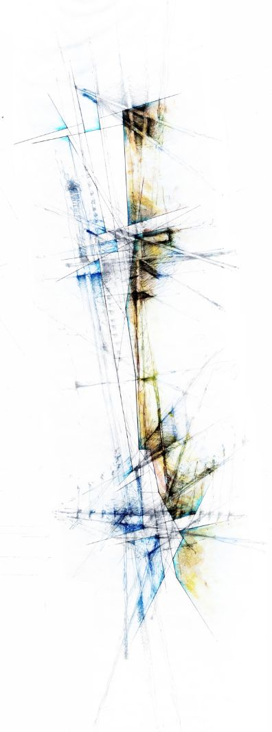 Joshua Deacon | Composite Mapping - Process study of space through a series of layered mappings