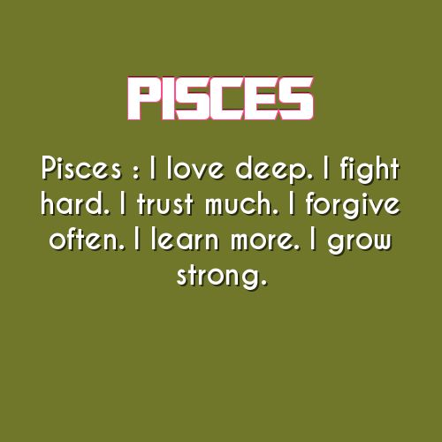 pisces daily astrology fact                                                                                                                                                                                 More