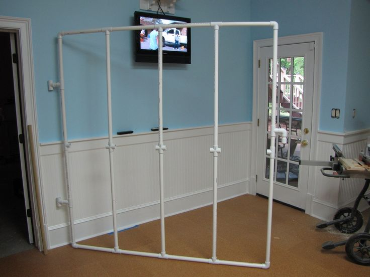 pvc pipe design board | An Awesome Hinged Design Wall Made by My ...