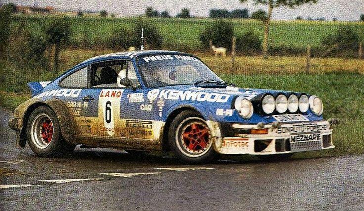 911 Beguin Lenne Campionato Europeo 1979