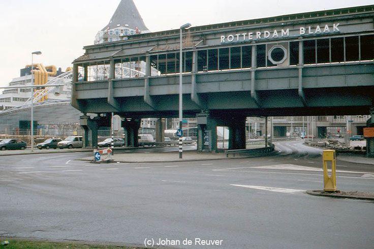 The old Blaak Railway-station, Rotterdam, Netherlands.