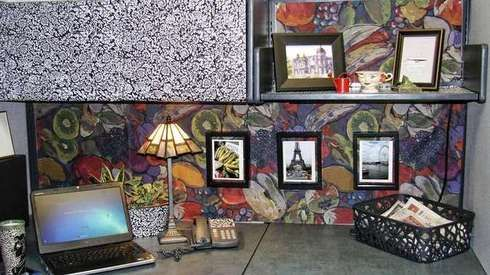 Show your personality by decorating your work space