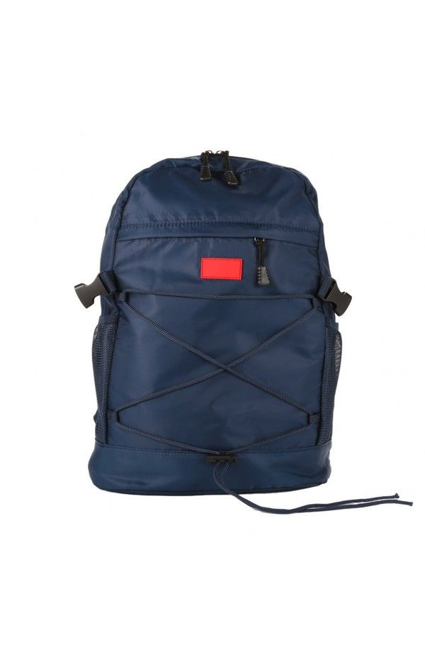 87810804b6 3GUYS τσάντα πλάτης με σχοινιά μπροστά και δίχτυ στο πλάι. Διαθέτει θέση  για laptop.