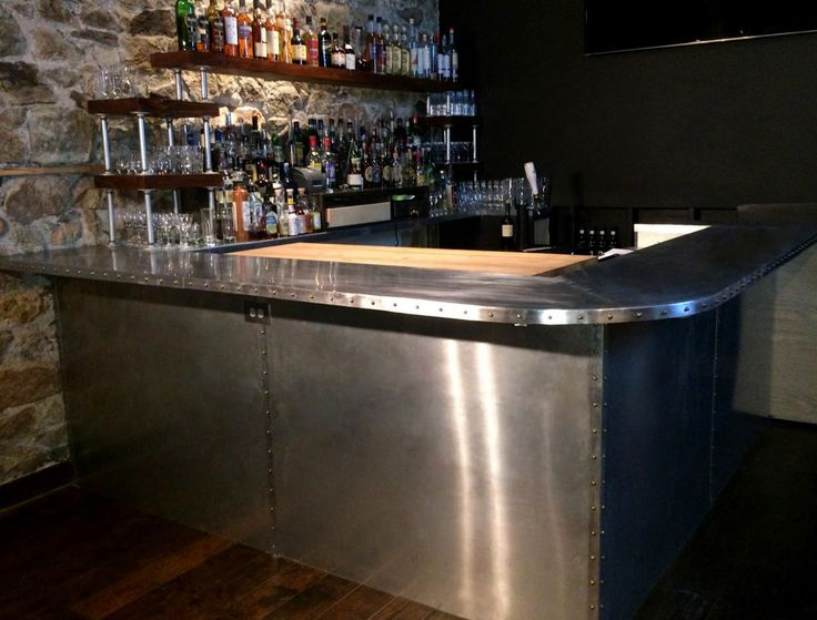 Zinc Sheets Cladding From Rotometals Perfect For Countertops Bars Kitchen Range