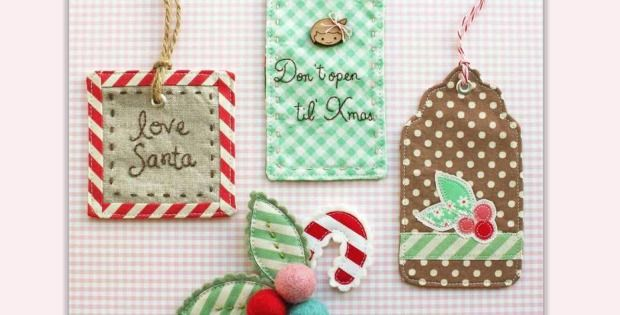 Raid Your Supplies for Buttons and Other Embellishments! These oh-so-charming gift tags are so quick and easy to make that you can complete several in just a few hours. Make them as simple or fancy as you want. Ribbons, buttons, sequins, beads, lace and trim all add to the charm, so raid your fabric scraps …