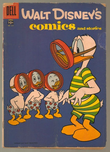 Walt Disneys Comics 1958