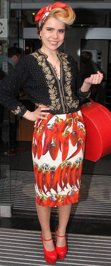 "Paloma Faith ""red hot chilli momma"""