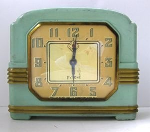 Art deco clock. @Deidra Brocké Wallace