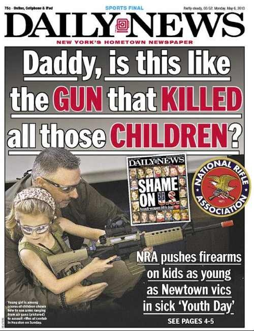 Look: NY Newspaper Covers NRA 'Youth Day'