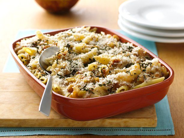 Bacon and Caramelized Onion Mac 'n Cheese: Cheese Recipe, Fun Recipes, Mac Cheese, Onions, Bacon, Onion Mac, Comfort Foods