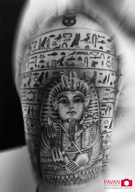 Tattoo egipcia (egyptian tattoo):