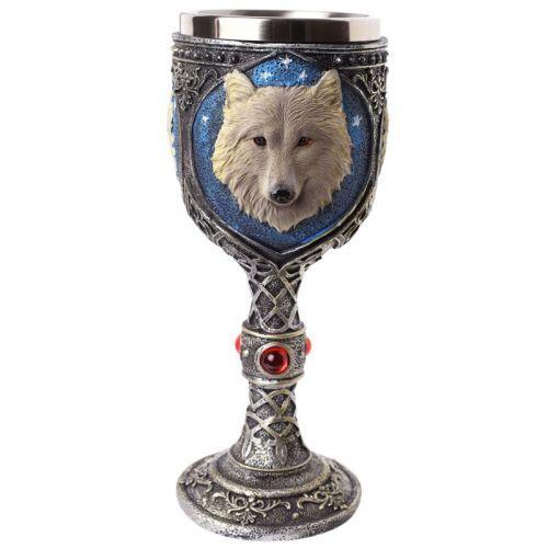 Fantasy Wolf Goblet