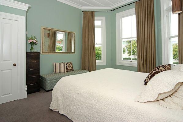 Resene half Washed Green. Gerard and Shelley Renovate a Half-Missing Villa :: Habitat of the Week
