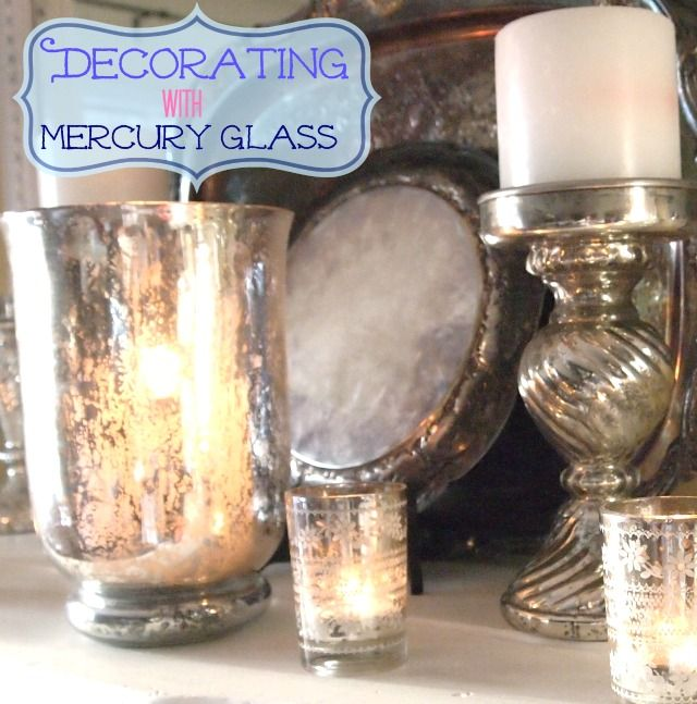 how to make a mirror look like mercury glass