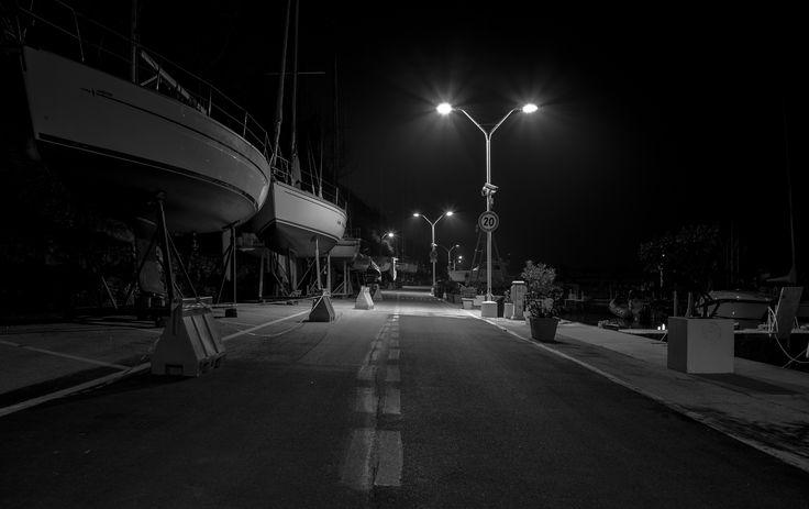 Night path - Sony A7S + Vivitar 28mm f/2.8