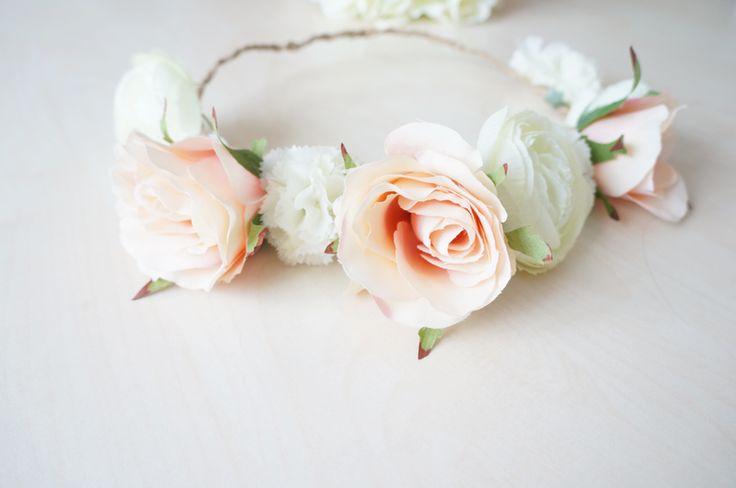 Une couronne de fleurs DIY