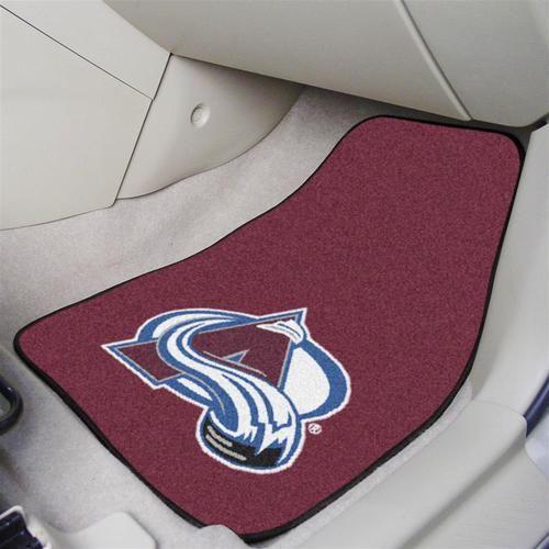 Colorado Avalanche Car Auto Floor Mats Front Seat