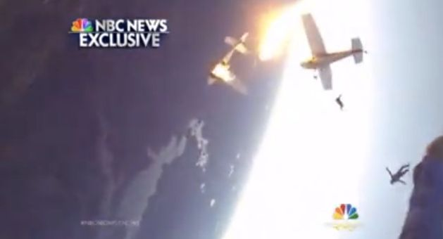 Extraordinary Footage Emerges Of The Moment Two Planes Full Of Skydivers Collided