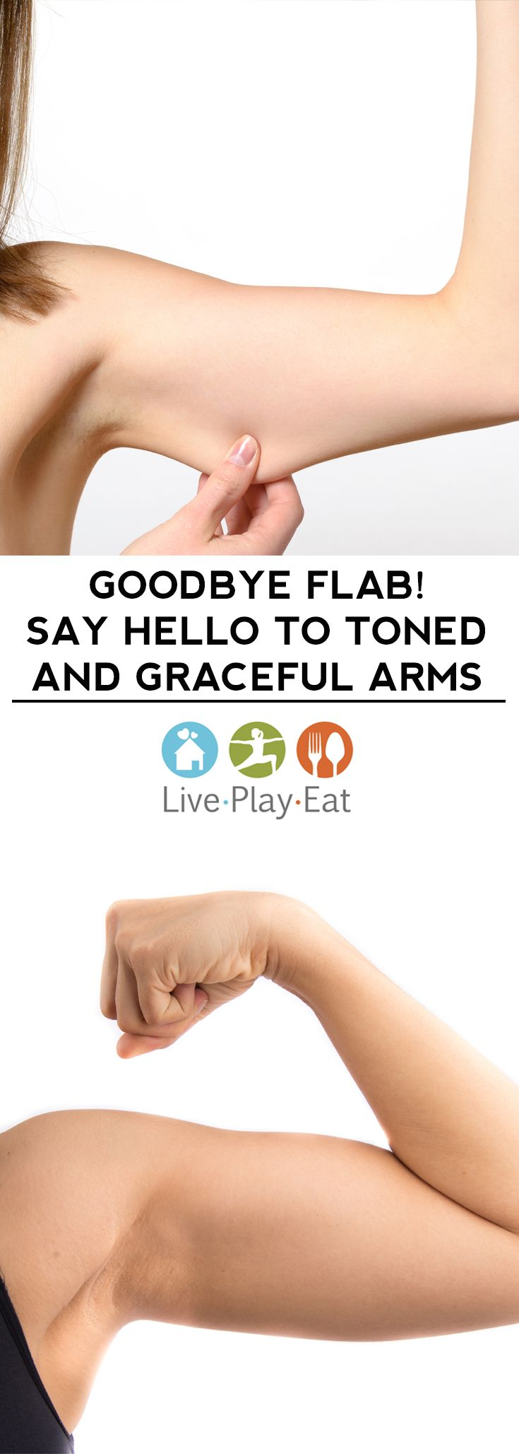 how to lose flabby arms at home