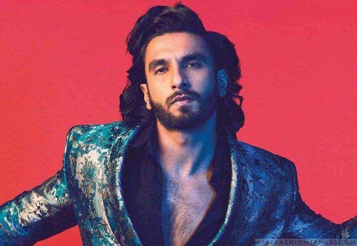 El actor indio Ranveer Singh es el hombre en portada de una edición especial masculina de la revista Hello! India