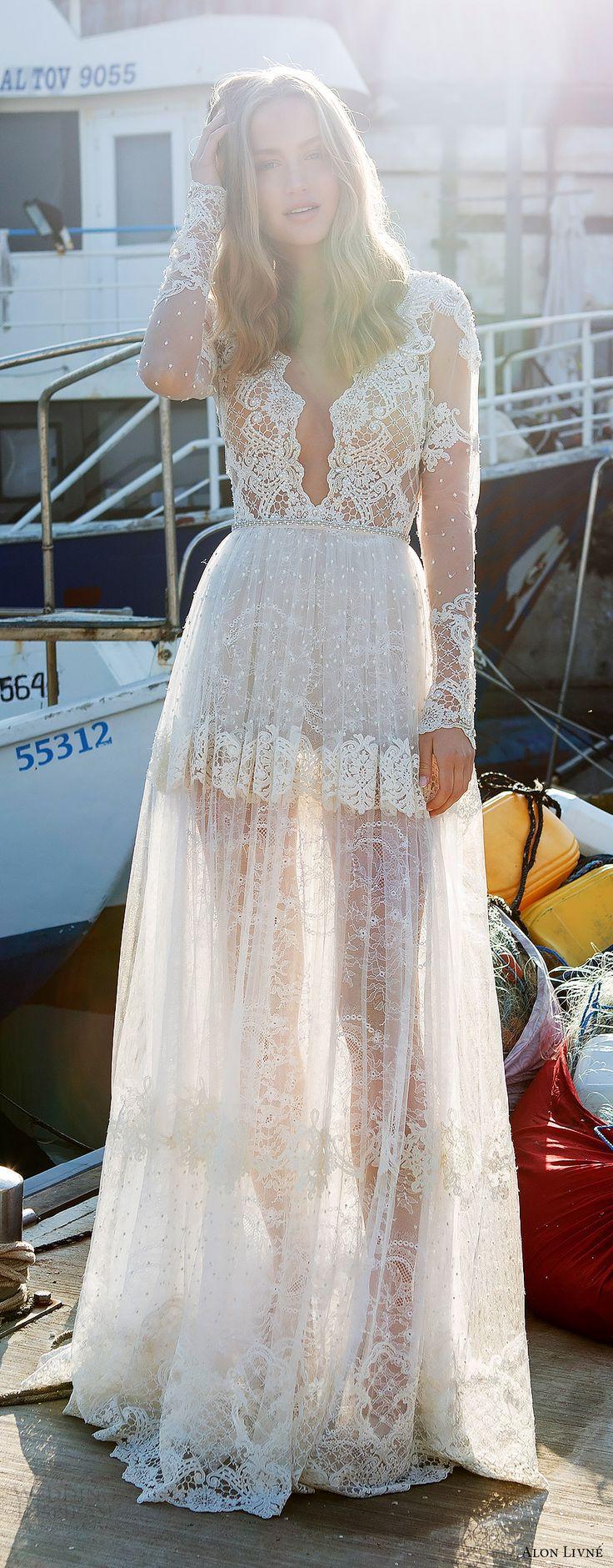 Vestido de #novia para las más atrevidas -- Alon Livne White 2017-2018