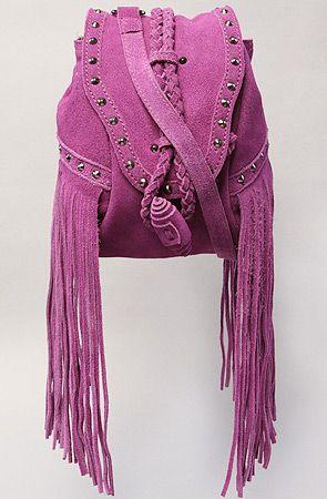 The Jane Fringed Satchel in Purple: Bag Magenta, Bags Carteras, Designer Bags Under, Bag Addiction, Fringe Crossbody, Fringed Satchel