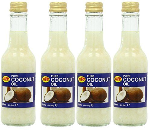 4 x KTC 100% Pure Coconut Oil 250ml, Hair & Skin Moisturiser Edible, Cooking Wilson_Direct http://www.amazon.co.uk/dp/B00N7PZ078/ref=cm_sw_r_pi_dp_jgydub1H89YGB