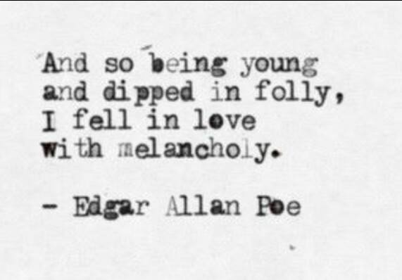 Edgar Allan Poe quote