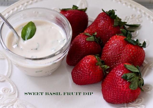 The Farmer's Nest: Recipes; Sweet Basil Fruit dipBasil Fruit, Yummy Recipe, Yummy Food, Sounds Soo, Sounds Delicious, Sweets Basil, Farmers Nests, Fruit Dips Recipe, Dip Recipes