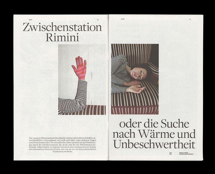 Young Swiss Magazin on Behance