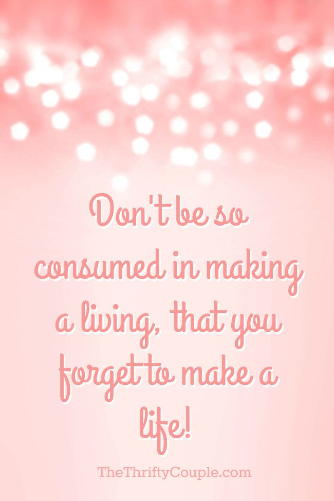 """Love this quote """"Don't be so consumed in making a living, that you forget to make a life!"""" Plus, the post shares how while """"making a life"""" this family has made nearly $20,000 so far on their hobby online business with part-time hours in just the first few months of the year. Who wouldn't love to make a life without having to work so much!"""