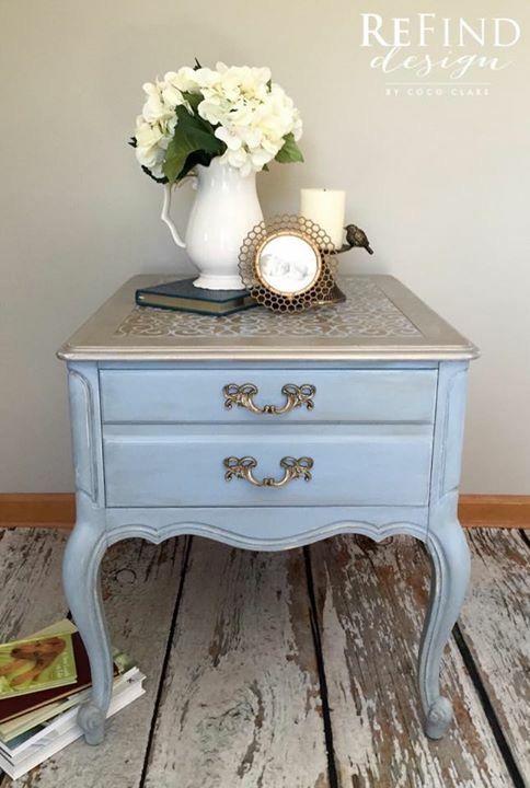 533 best Annie Sloan Louis Blue images on Pinterest Painted