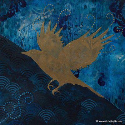 Flying Through the Rain - Michelle Gilks