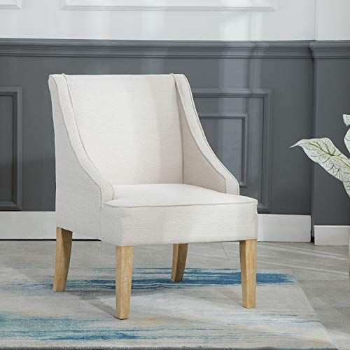 Kmax Fabric Accent Chair Comfortable Living Room Leisure Chair Upholstered Side Chair Wit In 2020 Upholstered Side Chair Fabric Accent Chair Comfortable Living Rooms