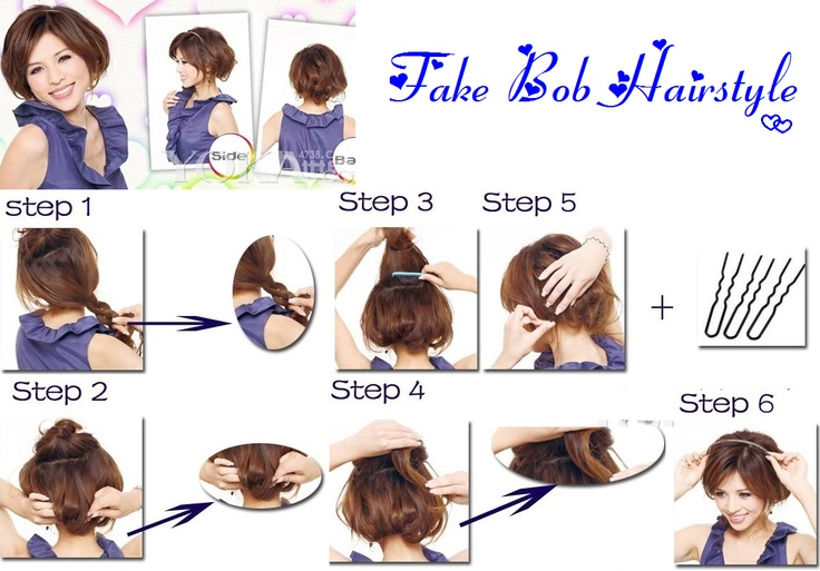 HD wallpapers bob hairstyle step by step