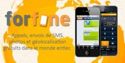 Forfone est une toute nouvelle application permettant de téléphoner sur des réseaux privés, via Internet utilisant le câble, le wifi, le satellite ou via les GSM (basé sur la technique VoIP pour « Voice over IP »).